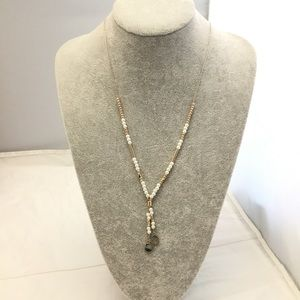 Stephan and Co. Beaded Slide Necklace